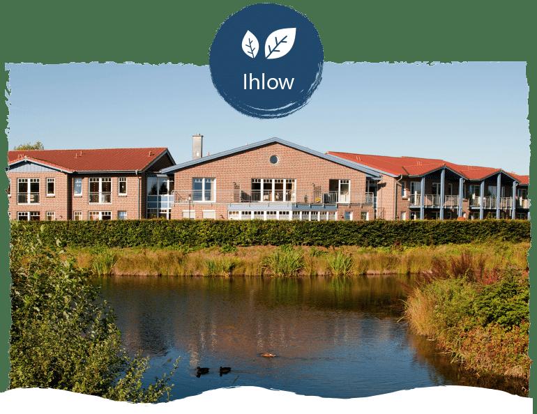 Seniorenwohnpark Nordlicht Standort Ihlow mit Logo Ihlow.